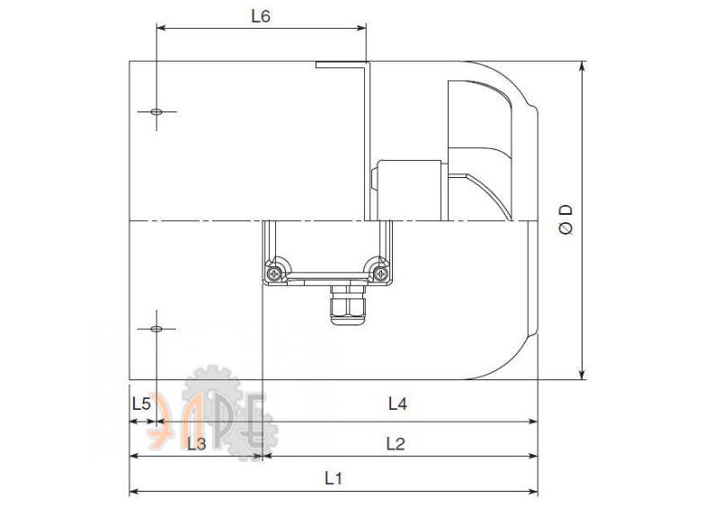 Размеры и габариты модуля Carpanelli