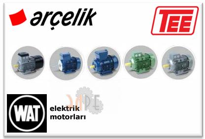 Двигатели TEE Arcelik Q1E-Q2E-Q3E