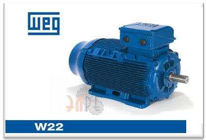 Двигатели Weg W22 трехфазные