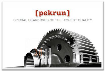 Pekrun редукторы купить и подобрать сложный редуктор