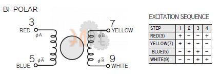 Nidec-Servo KH42JM2-961 Электрическое подключение и схема