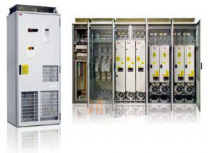 Частотник шкафного исполнения АББ ACS800-07 400В подключение