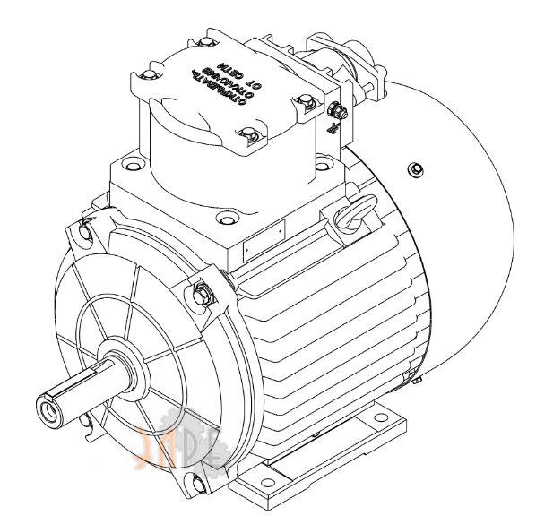 Электродвигатель BA180М и ВА200МА для АВО