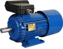 Универсальный однофазный электродвигатель Вesel SEMg 56-4BHPS с механическим тормозом
