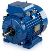 Трехфазный электродвигатель Indukta 100мм встраиваемый, для вентиляторов, односкоростной, с короткозамкнутым ротором.