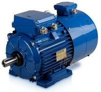 электродвигатель Indukta FSh 90мм с внешней вентиляцией