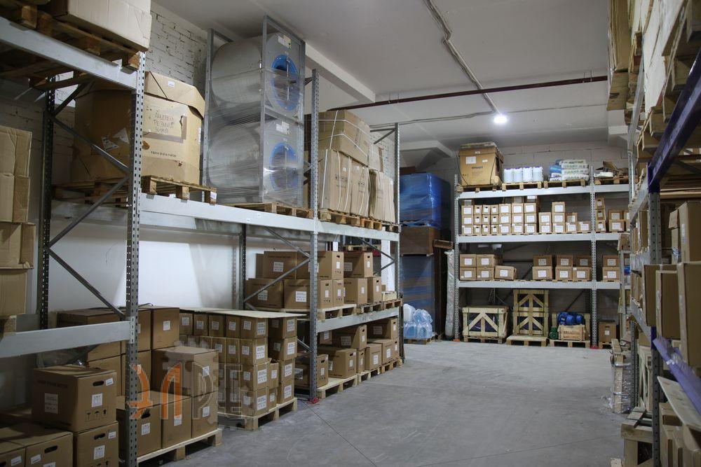 Хранение редуторов в ООО «ЭЛРЕ»