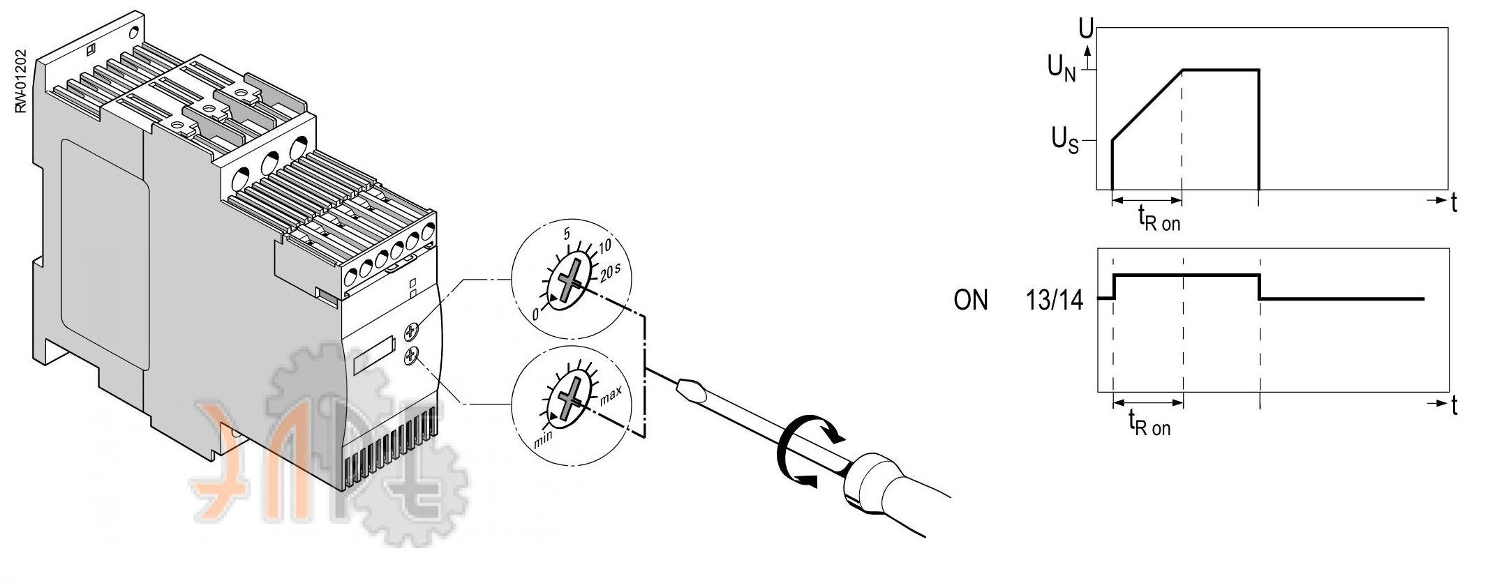 Устройство управления УПП Siemens Sirius 3RW3047-1BB14