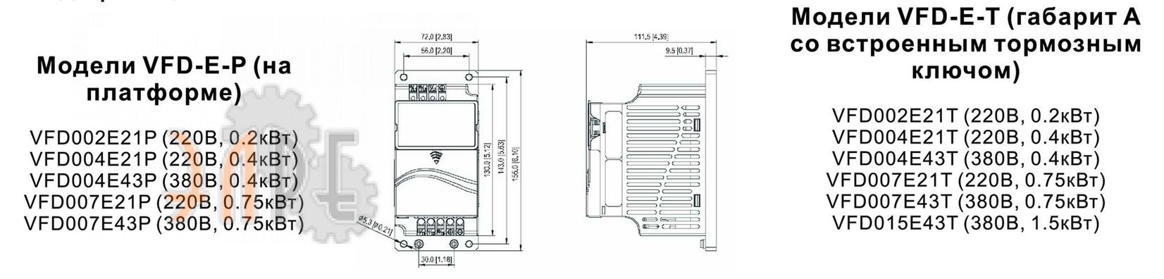 Модели на платформе или со встроенным тормозным ключом